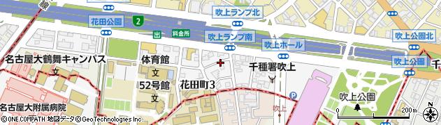 愛知県名古屋市千種区吹上周辺の地図