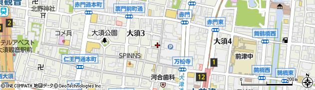 台湾の焼き包子周辺の地図