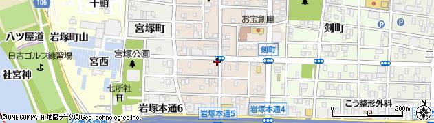 愛知県名古屋市中村区小鴨町周辺の地図
