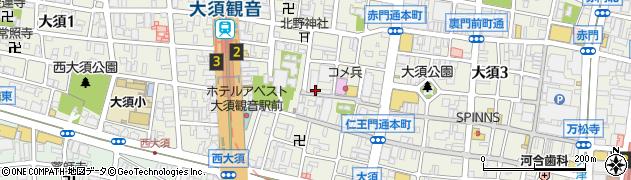加とう周辺の地図
