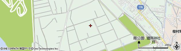 静岡県富士市松岡周辺の地図