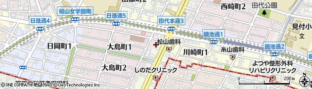 ひろ周辺の地図