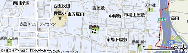 愛知県名古屋市中川区富田町大字千音寺(南屋敷)周辺の地図