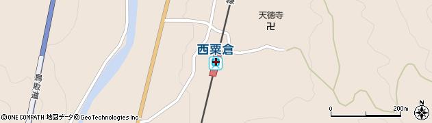 岡山県英田郡西粟倉村周辺の地図