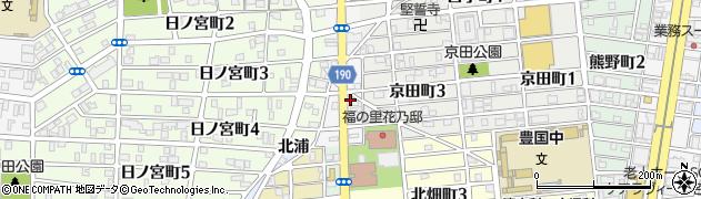 愛知県名古屋市中村区名西通周辺の地図