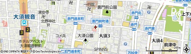 末広屋周辺の地図