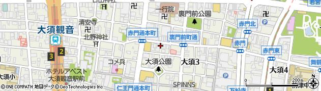 有限会社マジックスパイス周辺の地図