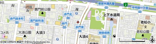 石神社周辺の地図