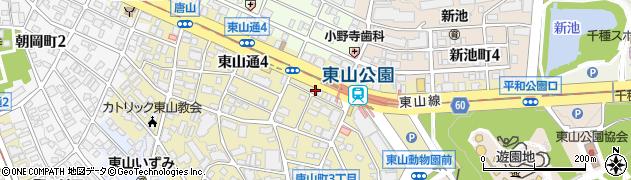ZOOSTATION周辺の地図
