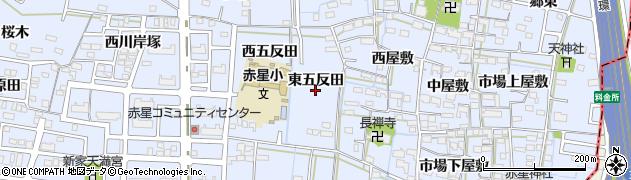 愛知県名古屋市中川区富田町大字千音寺(東五反田)周辺の地図