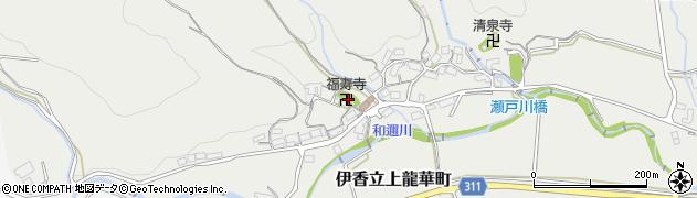 福寿寺周辺の地図