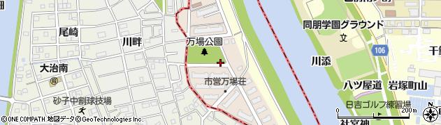 愛知県名古屋市中川区大地周辺の地図