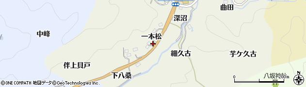 愛知県豊田市新盛町(一本松)周辺の地図
