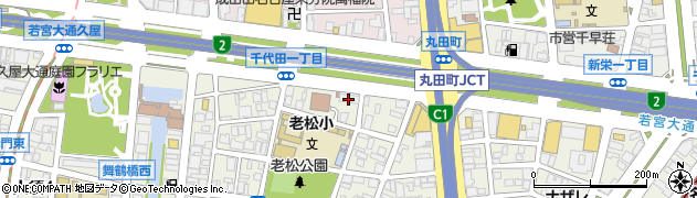 グラテシモ名古屋中央店周辺の地図