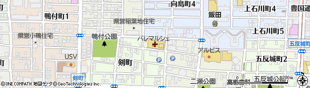 丸忠寿司 丸忠パレマルシェ中村店周辺の地図