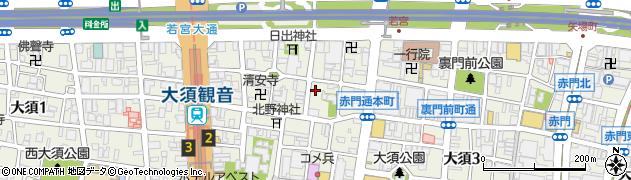 燦燦周辺の地図