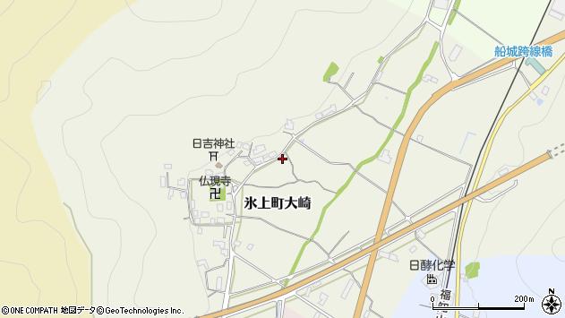 〒669-3462 兵庫県丹波市氷上町大崎の地図