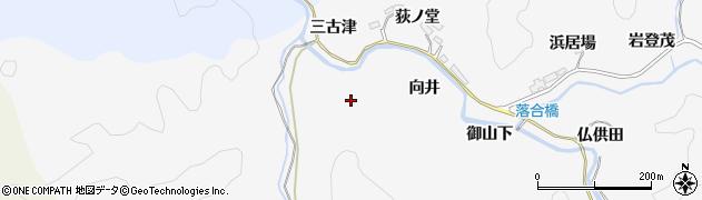 愛知県豊田市中立町(三古津)周辺の地図