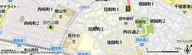 愛知県名古屋市千種区見附町周辺の地図