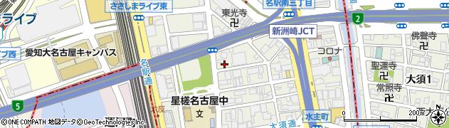 まる中周辺の地図