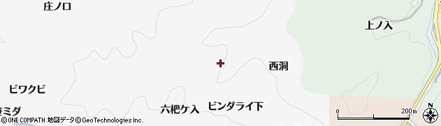 愛知県豊田市中立町(ビンダライ下)周辺の地図