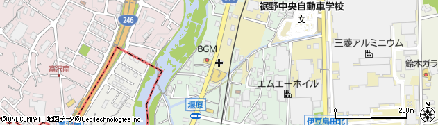 ほっともっと裾野平松店周辺の地図