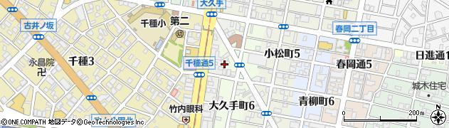 山本屋大久手店周辺の地図