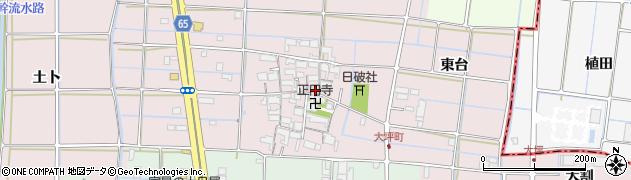 愛知県津島市大坪町(壺里)周辺の地図