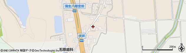 京都府京丹波町(船井郡)蒲生(南垣内)周辺の地図