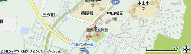 食事処松島周辺の地図
