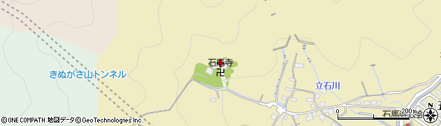 石馬寺周辺の地図