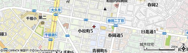 ケルン周辺の地図