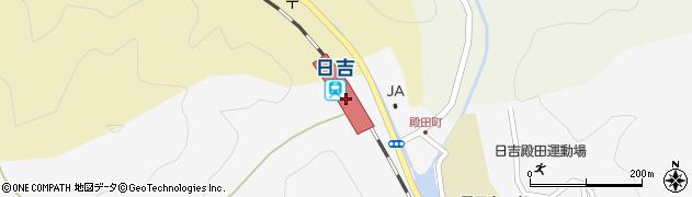 京都府南丹市周辺の地図