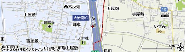 愛知県名古屋市中川区富田町大字千音寺(供木)周辺の地図