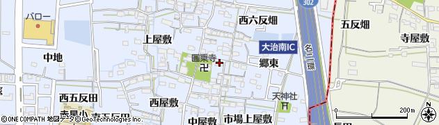 愛知県名古屋市中川区富田町大字千音寺(東屋敷)周辺の地図