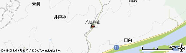 愛知県豊田市富田町(足ノ沢)周辺の地図