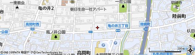 ガロンコーヒー 本社周辺の地図