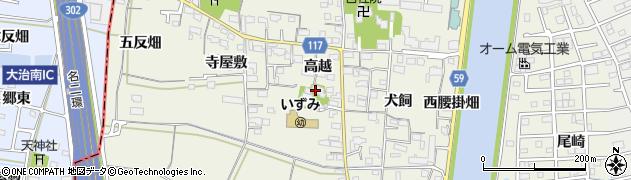 玉泉寺周辺の地図