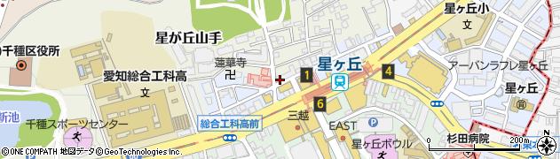 チロリン村周辺の地図