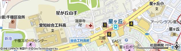 愛知県名古屋市千種区井上町周辺の地図