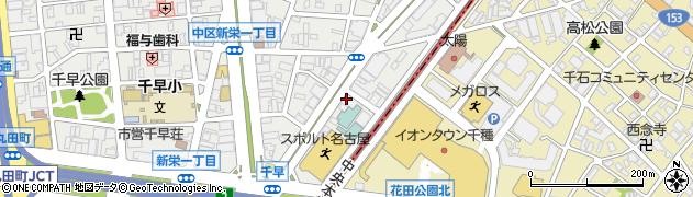 成南苑周辺の地図