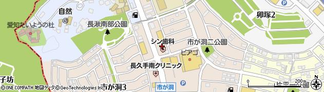 華花周辺の地図