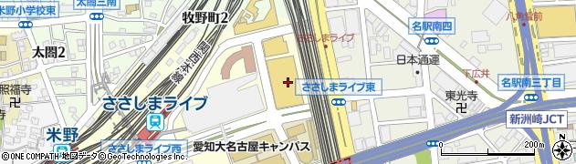 マグネットカフェ周辺の地図