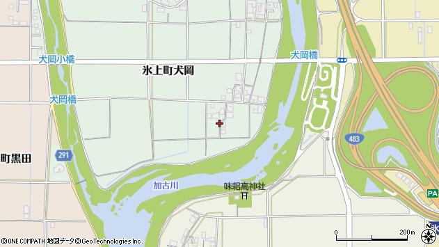〒669-3604 兵庫県丹波市氷上町犬岡の地図