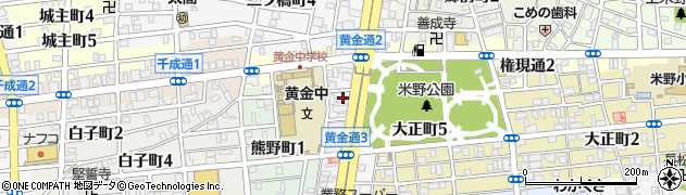 本家かまどや 黄金通店周辺の地図
