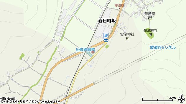 〒669-3415 兵庫県丹波市春日町坂の地図