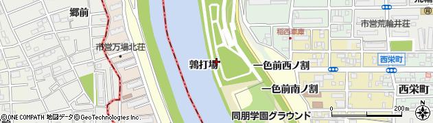 愛知県名古屋市中村区岩塚町(鶉打場)周辺の地図