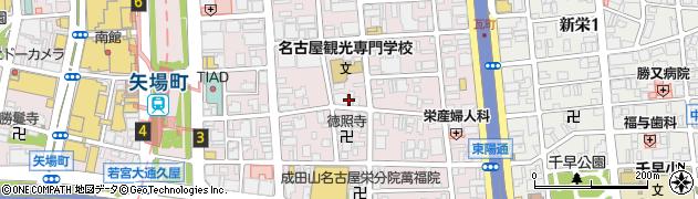 DADA周辺の地図