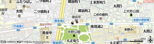 天鮨周辺の地図