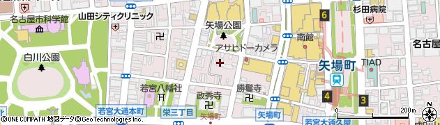 白林禅寺周辺の地図